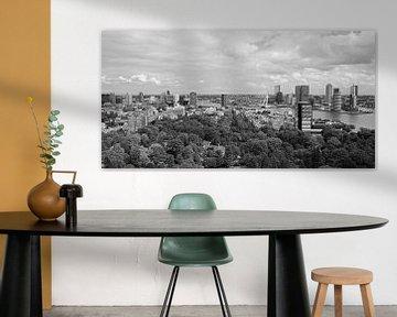 De skyline van Rotterdam van MS Fotografie | Marc van der Stelt