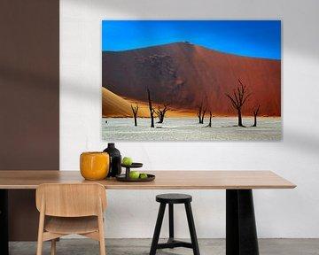 Schön ruhig Schuss von Deadvlei Namibia von Rietje Bulthuis