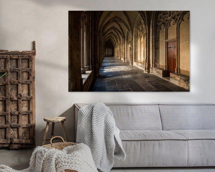 Sfeerimpressie: Gang in de Dom van Utrecht van martin von rotz