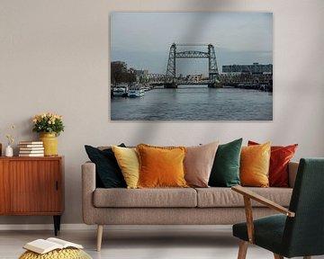 Hefbrug over de Maas in Rotterdam von martin von rotz