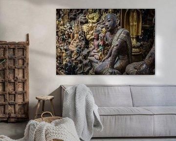 Afbeeldingen van Budha sur Wout Kok