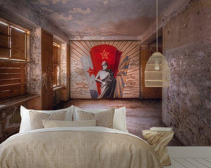Beispiel fototapete: Russisches Wandgemälde. von Roman Robroek