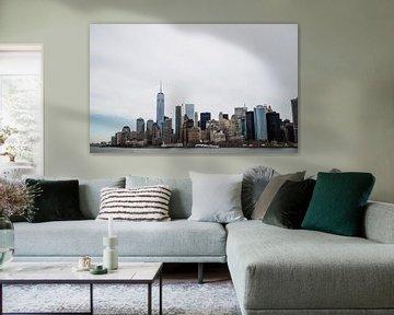 Skyline New York  von Leander Sinke