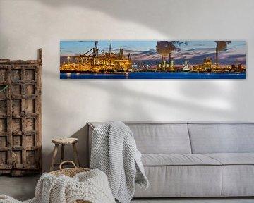 Panorama Maasvlakte Rotterdam
