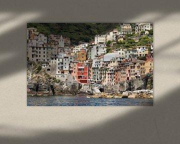 Cinque Terre - Riomaggiore van Rob Kints