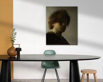 Selbstbildnis, Rembrandt Harmensz. van Rijn, ca. 1628