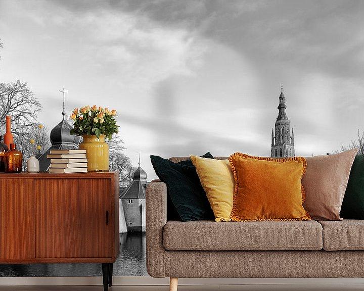 Sfeerimpressie behang: Historisch Breda Spanjaardsgat Klassiek van JPWFoto