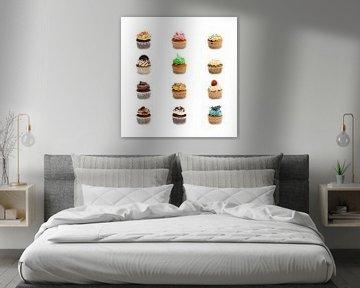 Gezellige Cupcakes van Studio LINKSHANDIG Amsterdam