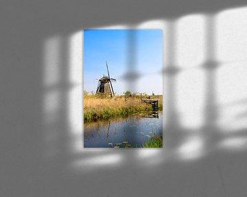 Windmolen te Kinderdijk van Inge Schepers