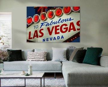 Las Vegas Welcome Sign van martin von rotz