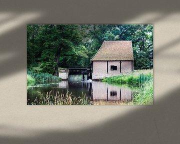 oude watermolen in Twente van Compuinfoto .