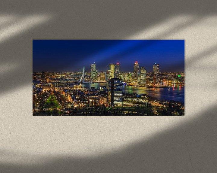 Sfeerimpressie: Skyline Rotterdam vanaf de Euromast   Tux Photography - 5 van Tux Photography