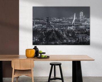 Skyline Rotterdam vanaf de Euromast | Tux Photography - 4 van Tux Photography