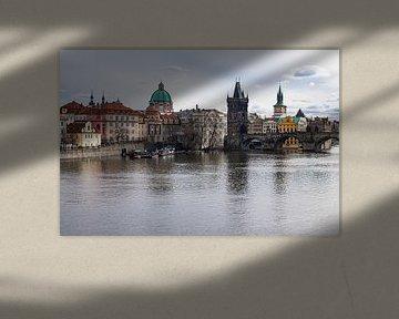View to Prague van Rico Ködder