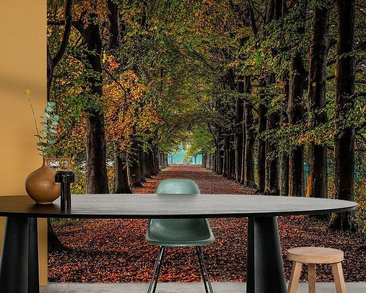 Sfeerimpressie behang: Herfst van Annemie Lauvenberg