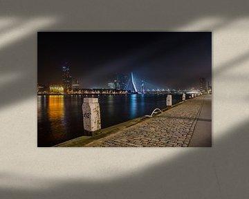 Erasmus Bridge from post 52 sur Ricardo Bouman