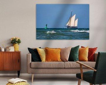 Segelschiff auf der Ostsee von Rico Ködder