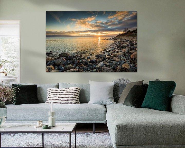 Sfeerimpressie: Gouden Baltische Zee van Ursula Reins