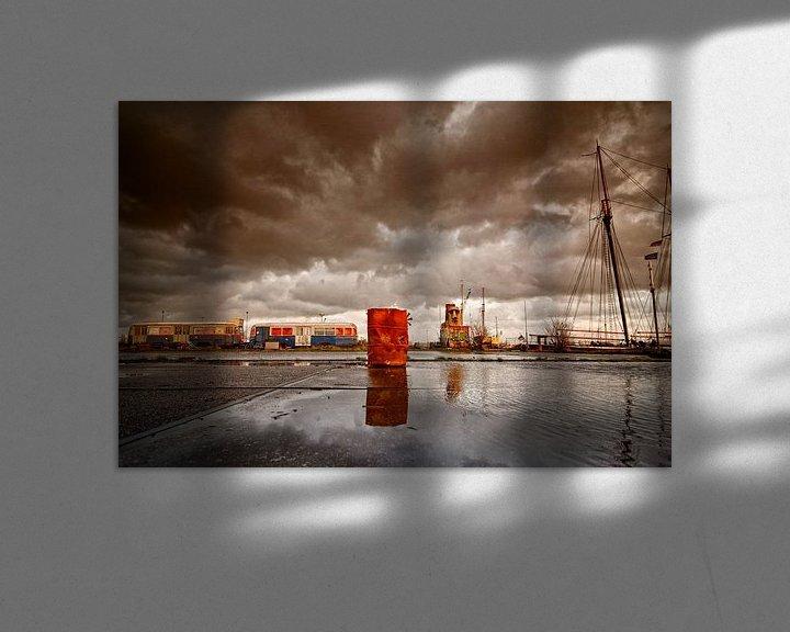 Sfeerimpressie: NDSM 01 van Peter Bongers