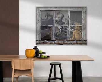 Window view - Once Upon a Time, van Christine Nöhmeier