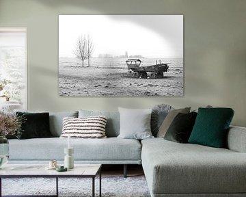 Het polderlandschap in Nederland van MS Fotografie | Marc van der Stelt