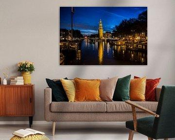 Montelsbaantoren nachtopname van PIX URBAN PHOTOGRAPHY