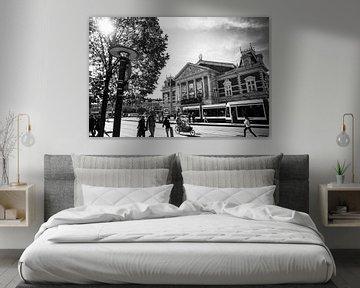 Concertgebouw Amsterdam zwart-wit