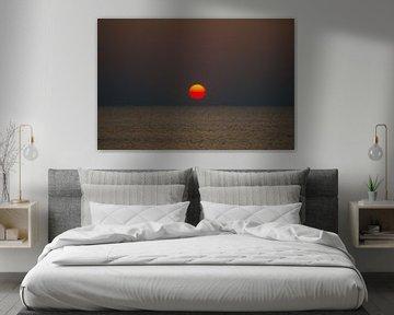 Heldere zonsondergang sur Richard Steenvoorden