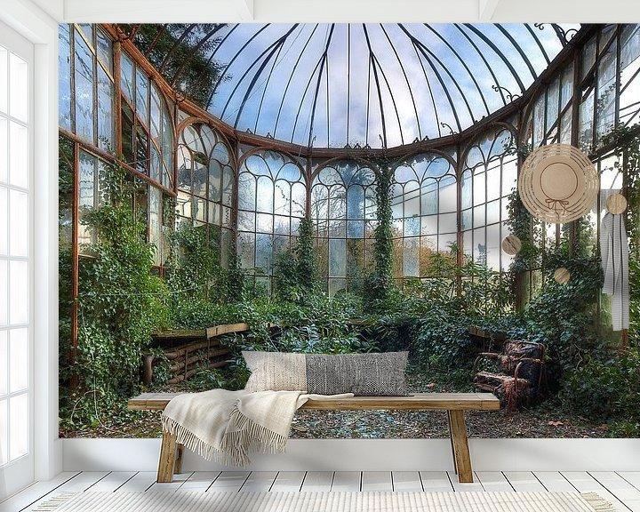 Beispiel fototapete: Verlassener Wintergarten von Truus Nijland