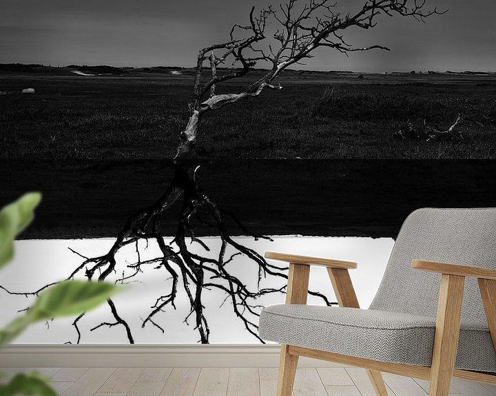 Sfeerimpressie behang: Blendscape #1 van Marcel Borgstijn