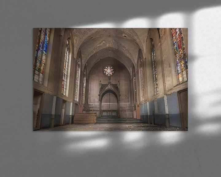 Beispiel: Kapelle mit schönen Farben von Perry Wiertz