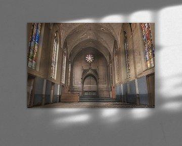 Kapelle mit schönen Farben von Perry Wiertz