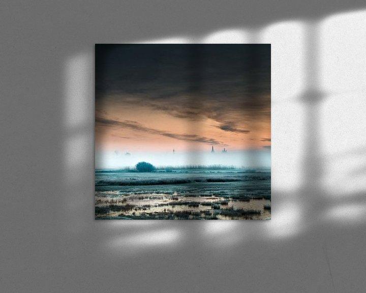 Sfeerimpressie: Transition from blue to red van Ruud Peters