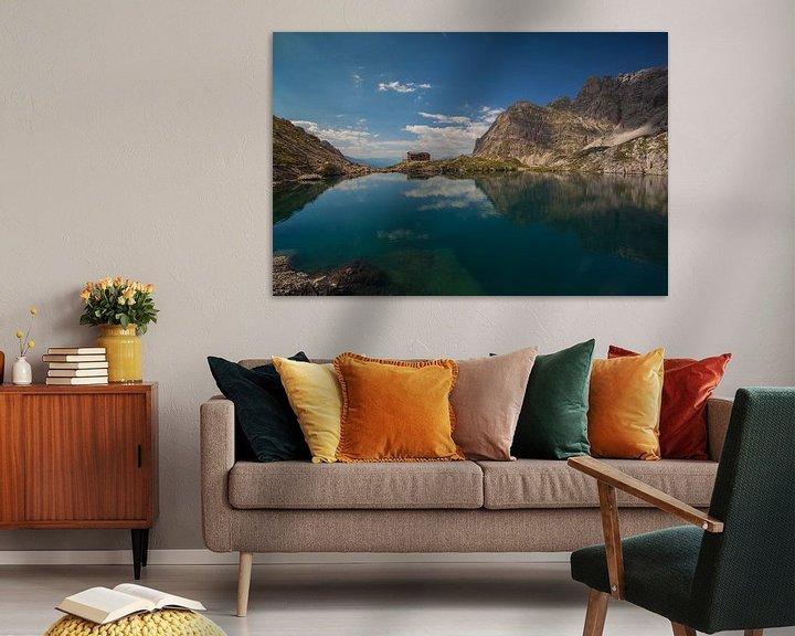 Sfeerimpressie: Dolomietenhut Oostenrijk van Erwin Stevens