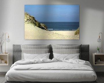 strand opgang hollum ameland van Groothuizen Foto Art