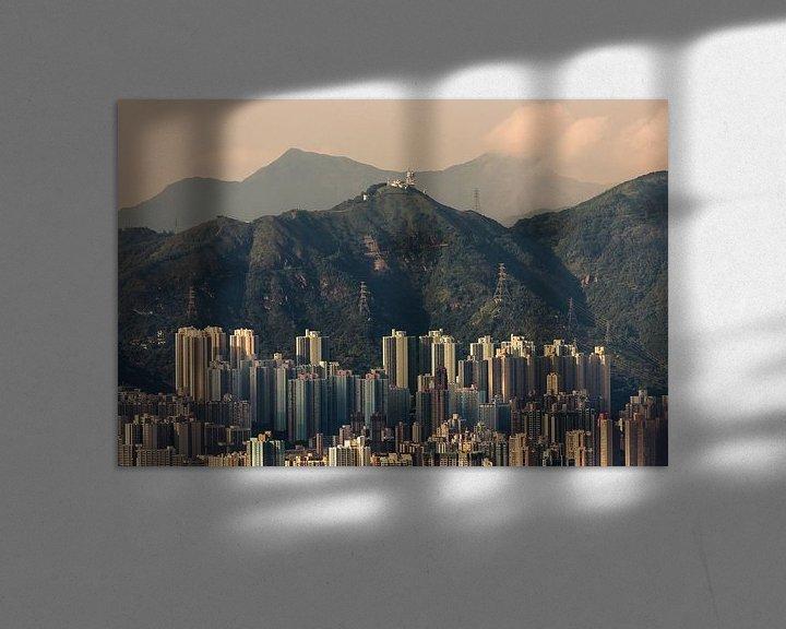 Sfeerimpressie: HONG KONG 06 van Tom Uhlenberg