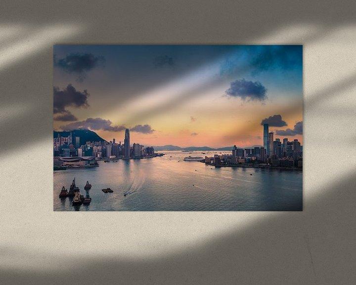 Sfeerimpressie: HONG KONG 09 van Tom Uhlenberg