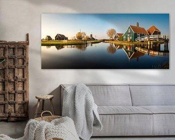 Zaanse Schans Panorama van Edwin Mooijaart