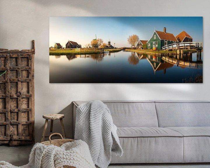 Sfeerimpressie: Zaanse Schans Panorama van Edwin Mooijaart