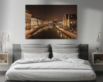 Gent @ Night I van Marc Smits