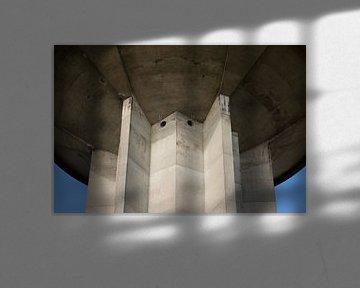 Watertoren Dokkum, Friesland van Tim Groeneveld