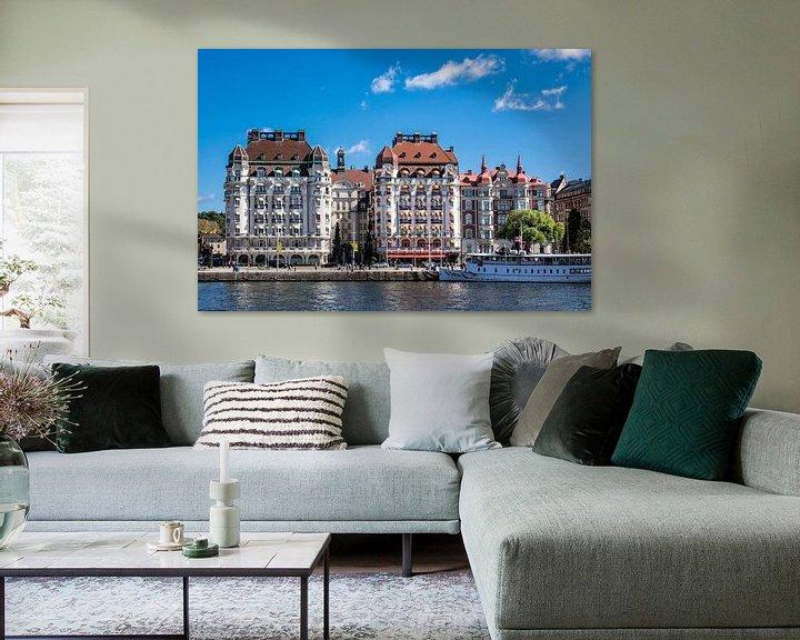 Sfeerimpressie: View to Stockholm  van Rico Ködder