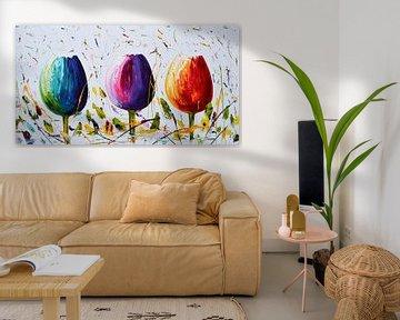 Tulips von Gena Theheartofart