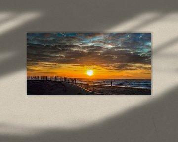 Hollandse kust van Richard Steenvoorden