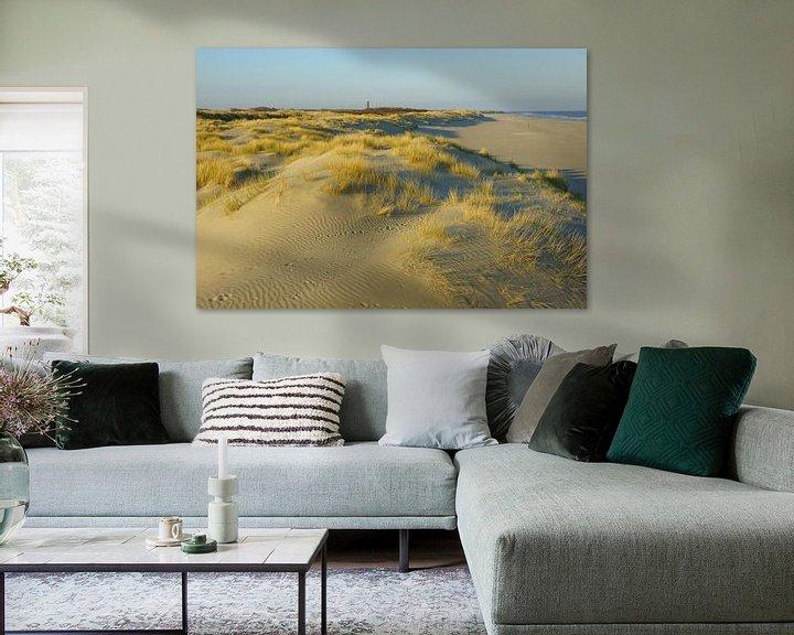 Sfeerimpressie: Duinen, strand en zee van Michel van Kooten