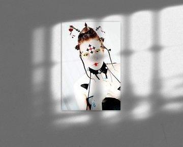 Gothic Geisha van Qunzt dat is andere kunst