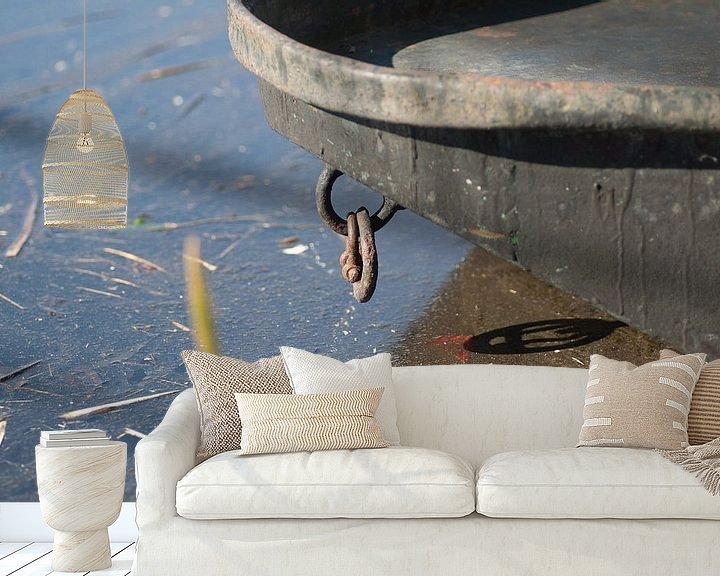 Beispiel fototapete: Boot von Agnes Meijer