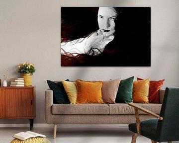 Vamp pracht kleur passie liefde en vuur von Qunzt dat is andere kunst