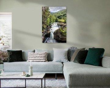 Cascade in Norway van Rico Ködder