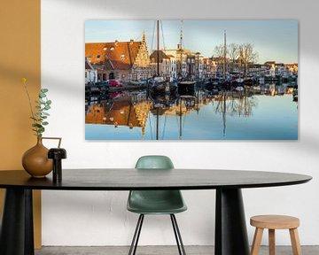 Leidse haven van Richard Steenvoorden